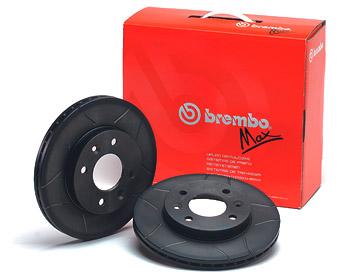 Brembo Max Sport Volkswagen Vento 1.4/1.8/ 1.9 első féktárcsa